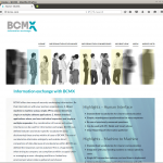 BCMX Software website