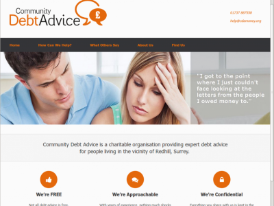 Community Debt Advice website