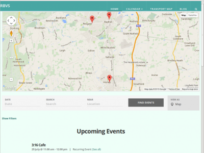 Community Events website
