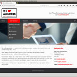 We Love Accounts Website
