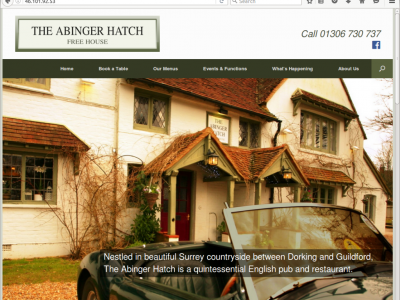 The Abinger Hatch website